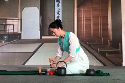 日本茶道体验课